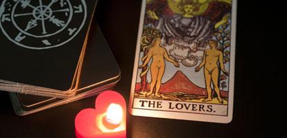Carta de los Amantes en el Tarot del Amor